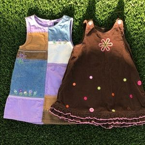 Girls corduroy dress bundle!